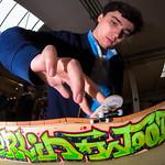 Adrian Witzel - Fast Fingers 16 - SW BS Tailslide