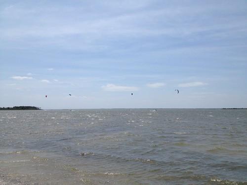 More sailing