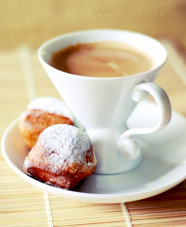 Beignets with Cafe Au Lait