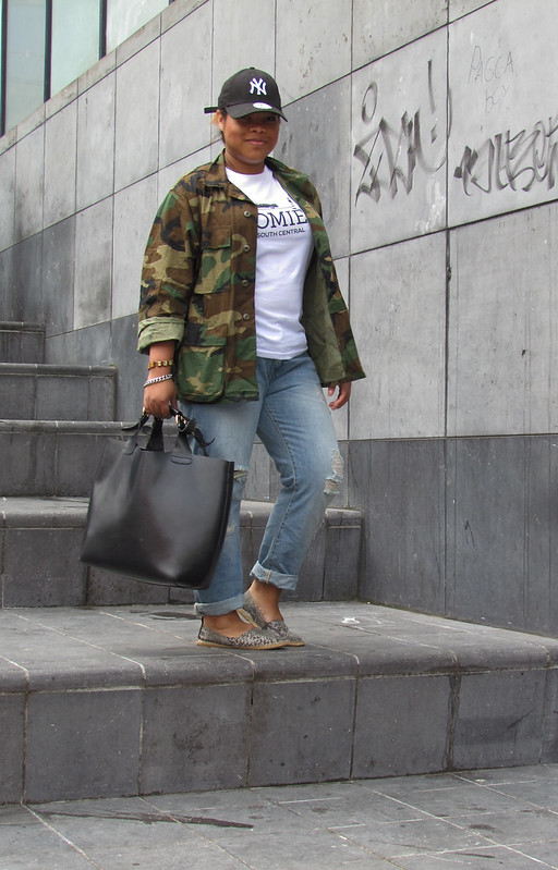 NY, Yankees, Army, Homies, South Central, Zara, Espadrilles, Boyfriend Jeans, Shopper, Cap