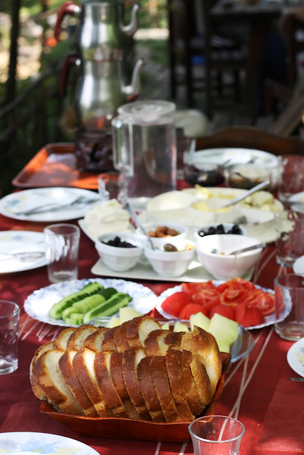 Sapanca Breakfast by Olga Irez of Delicious Istanbul