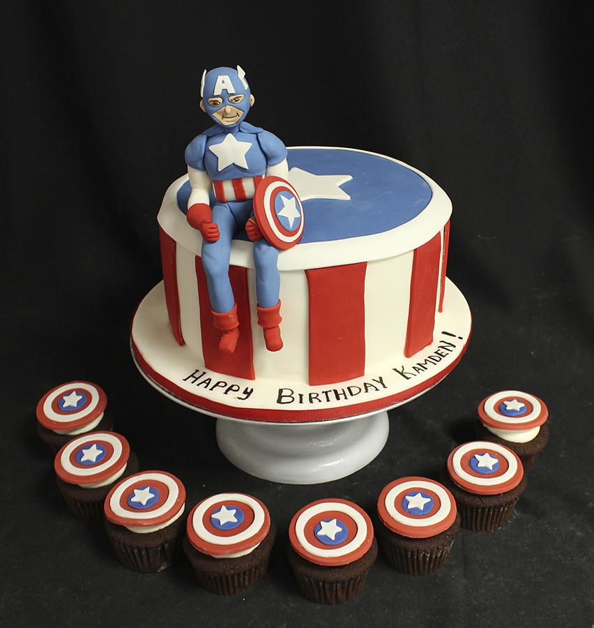 Captain America Design For Birthday