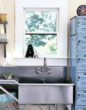 Industrial Kitchen Sink   Country Living   Heath Ashli   Flickr