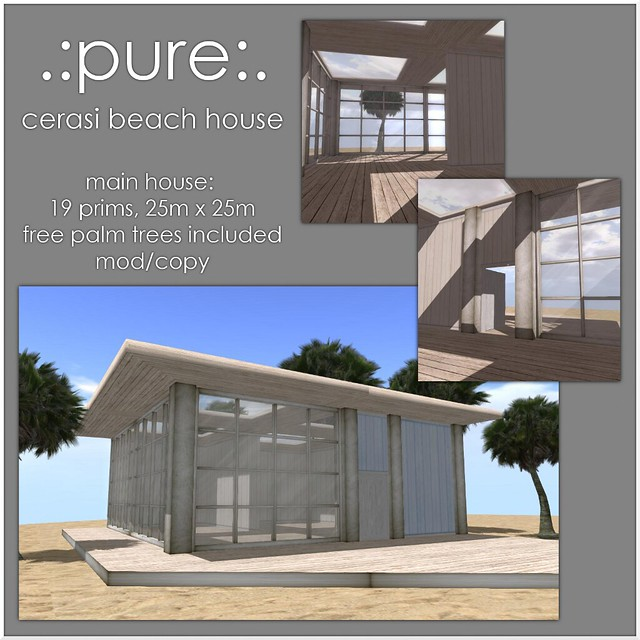 pure Cerasi Beach House Detailed Ad