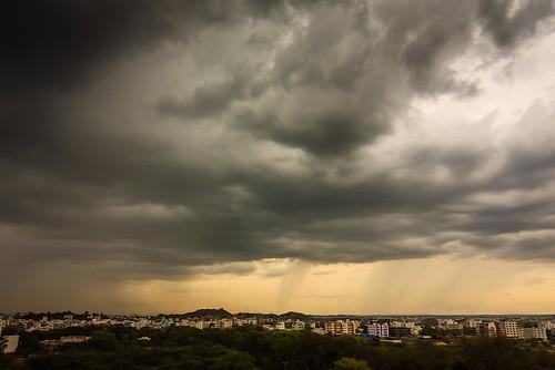Distant rains ...