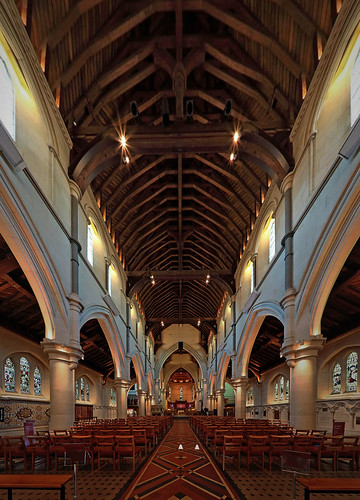 Christchurch Cathedral option 1 aisle