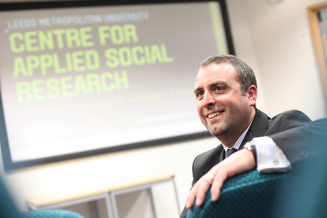 Dr Alex Nunn, Launch of the Centre for Applied Social Science Research June 2013