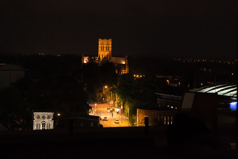 View from the top of Westlegate Tower, Norwich