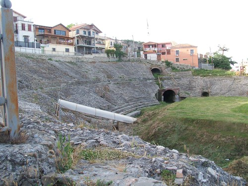 Amphithéâtre romain à Durrës, ALBANIE