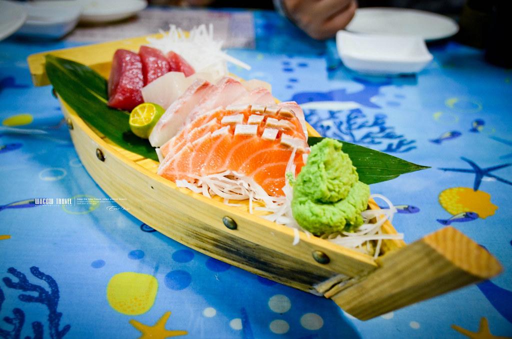 小琉球生魚片