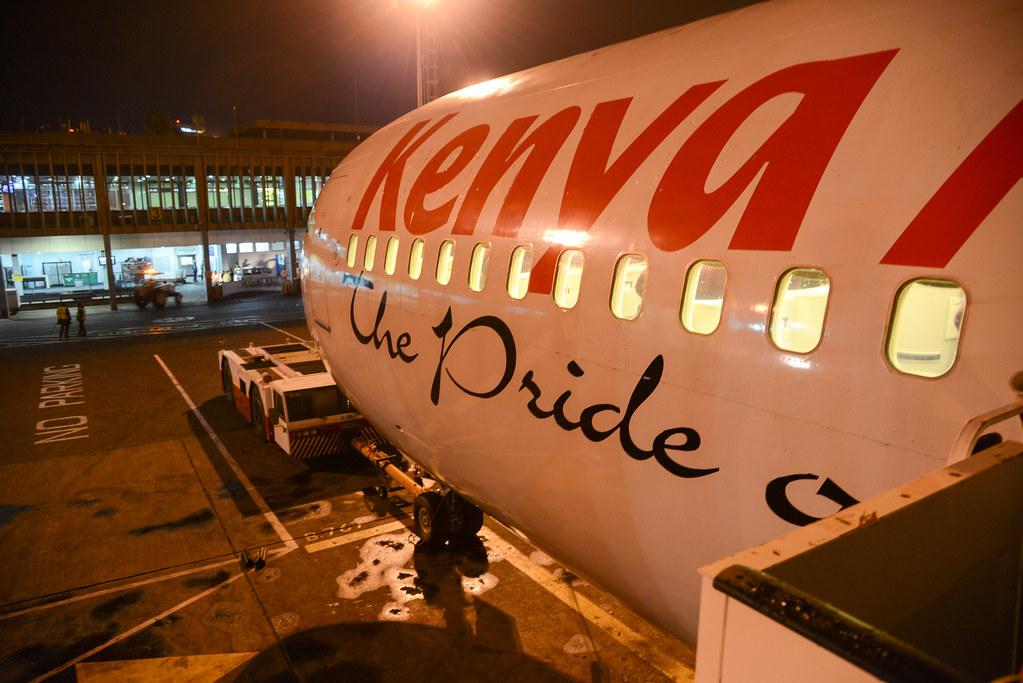 Kenya Airways 763ER 5Y-KQX