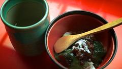 20130622_常夜燈 68 第 27 道 甜點 紅豆抹茶湯圓