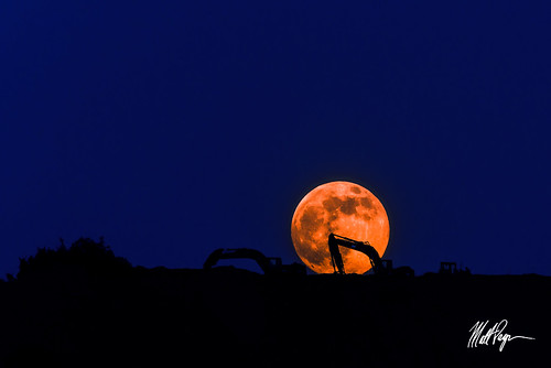 Working on the Supermoon