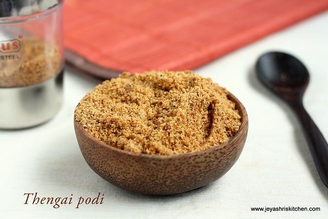 thengai podi |coconut podi