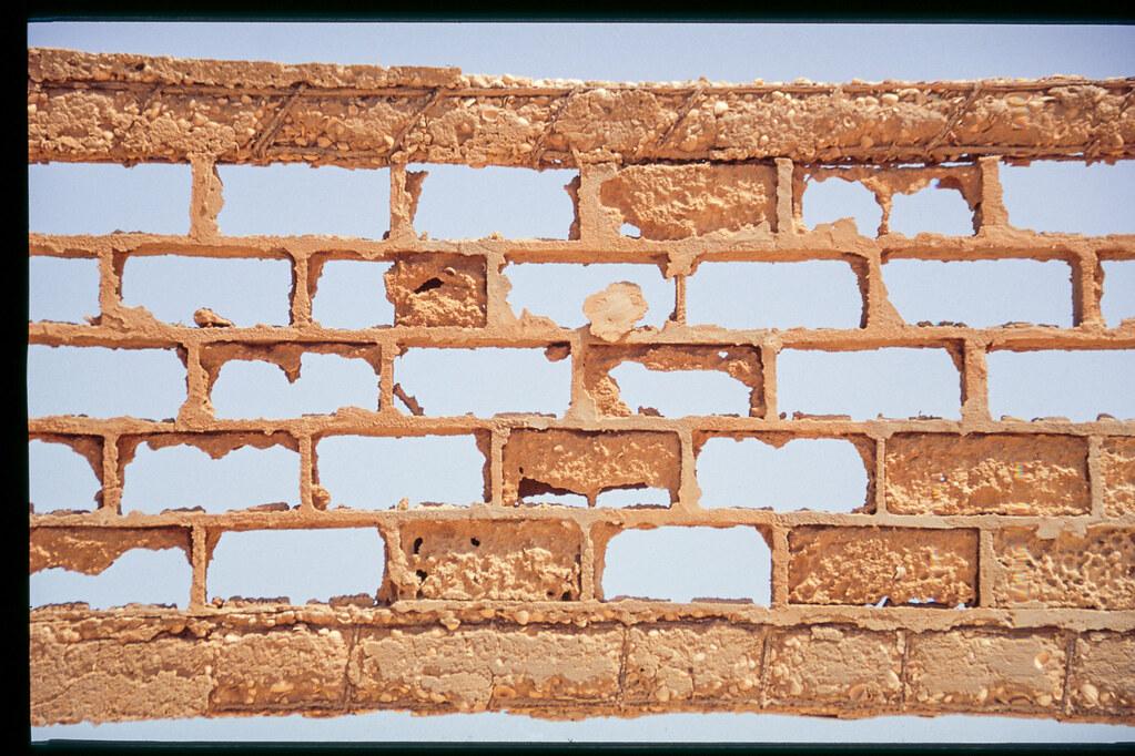 Mauritanie - Banc d'Arguin - Du ciment et du sable