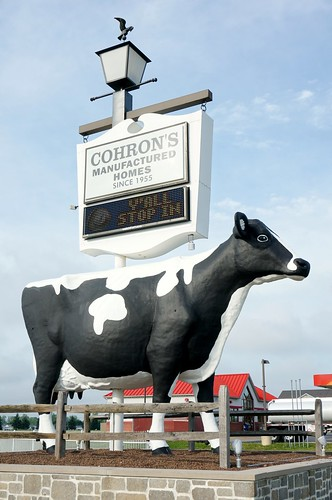 Big Cow - US 36, Indianapolis, Indiana