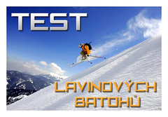 Test lavinových batohů