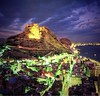 Night vision of my city alicante.