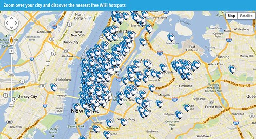 NYC Cable Provide Hotspot Service Dailywirelessorg - Free wifi near me map