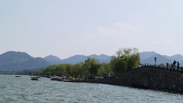 杭州西湖斷橋殘雪