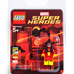 San Diego Comic Con 2013 LEGO Exclusive Minifigure - Spider-Woman