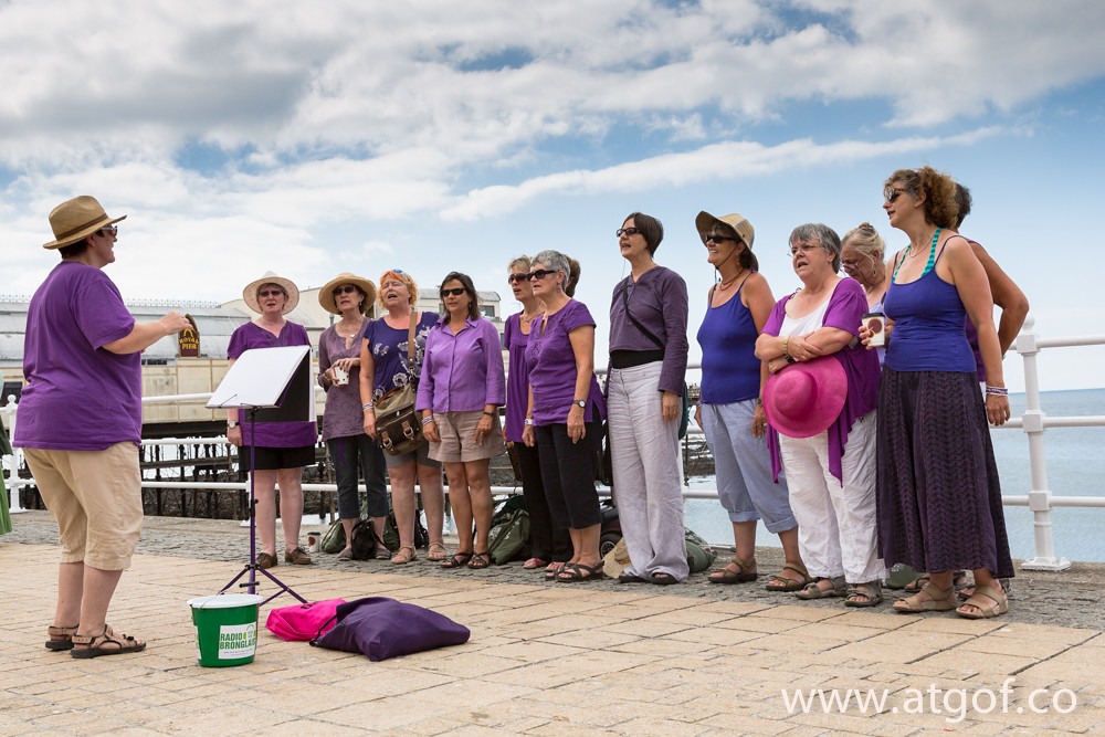 Street Choir Festival visits west Wales