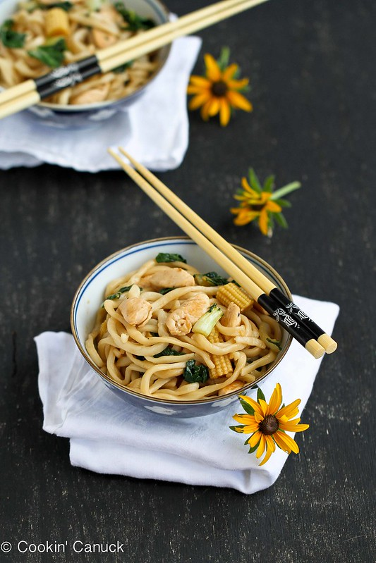 Cookin' Canuck | Chinese Noodle Recipe w Chicken, Bok Choy ...