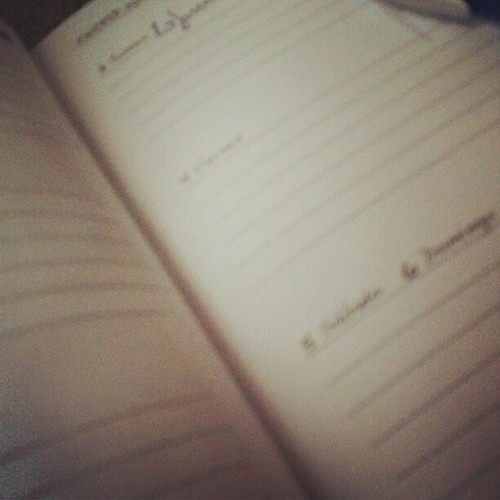 Estrenar agenda aunque se acabe el...