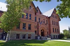 looking SW at Montana Hall - Montana State University - Bozeman, Montana - 2013-07-09
