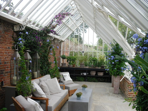 Relaxing - and gardening...the wonders of a special greenhouse