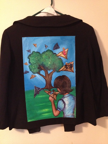 """Return Flight"" a jacket for Karin Jay"