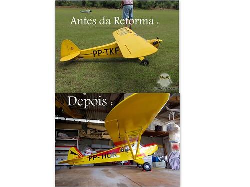 Repaginação de um Piper J-3 para um Neiva P56 C Paulistinha  9552492053_4daf275f88