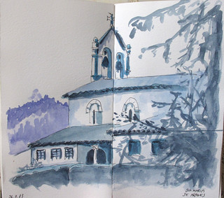 Iglesia de Sta Mª de Arroes . Asturias