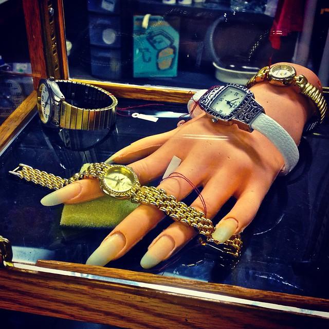 Flea Market Hand Model