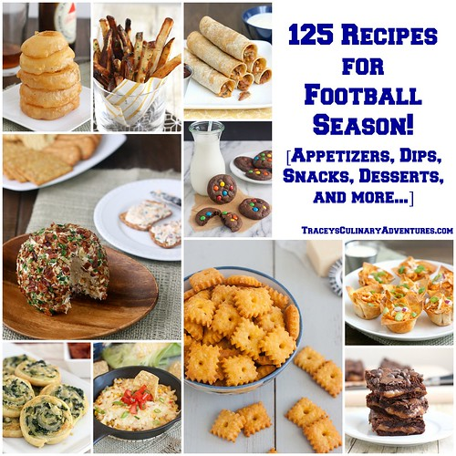 125 Recipes for Football Season