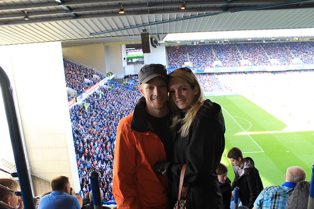 Ibrox Stadium - Glasgow, Scotland