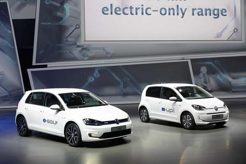 Франкфуртский автосалон 2013 – Volkswagen представил электромобили e-Up! и e-Golf
