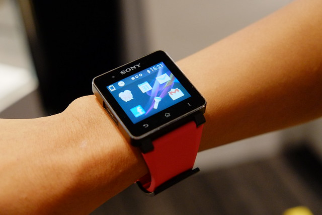 Smart Watch 2 touch & try