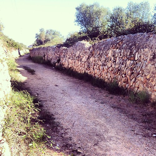Fent la Via Augusta - Camí Ral a #ElVendrell amb l'#IEP #Penedès