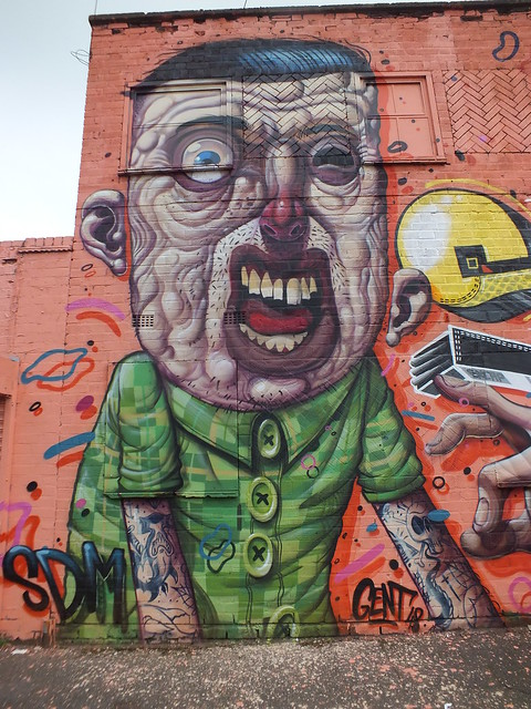 Birmingham Street Art and graffiti