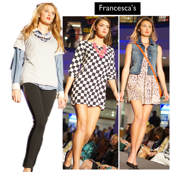 Saint Louis Fashion Week (Fall 2013), Fall into Fashion, Saint Louis Galleria, Francesca's c