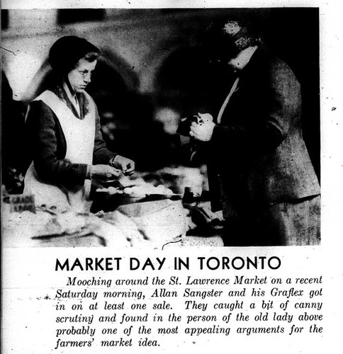 Scenes from St. Lawrence Market, 1934 (3)