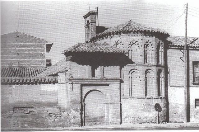 Ermita de San Eugenio hacia 1970. Fotografía de Carlos Villasante