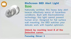 Bluescreen 88D Alert Light