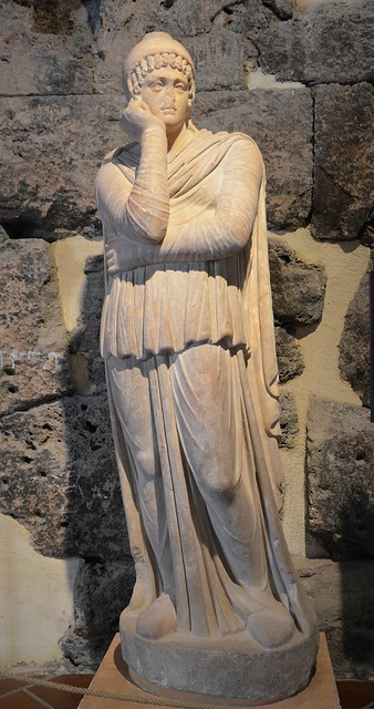 Statue of Attis, 2nd half of 2nd century AD, from the Hierapolis Agora, Hierapolis Archaeology Museum, Turkey