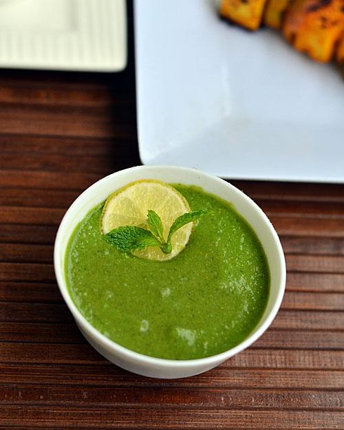 green chutney for tandoori