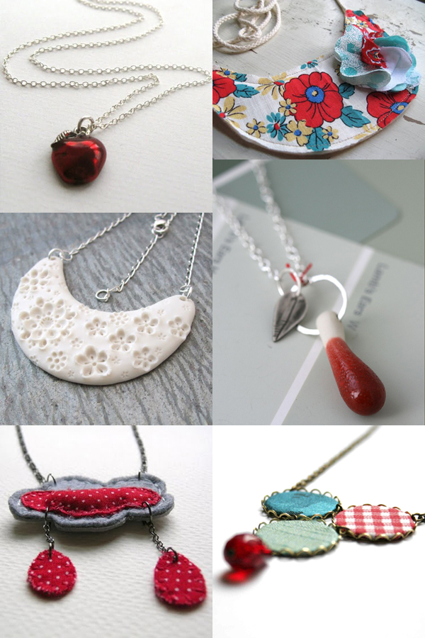 Handmade necklaces I'm loving right now | Emma Lamb