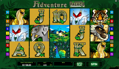 Adventure Palace HD slot game online review