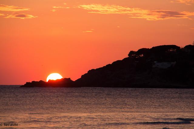Sunset, Canon EOS M, Tamron 18-200mm F/3.5-6.3 Di III VC