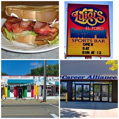The Perfect BLT, Then Out and About Around Flint